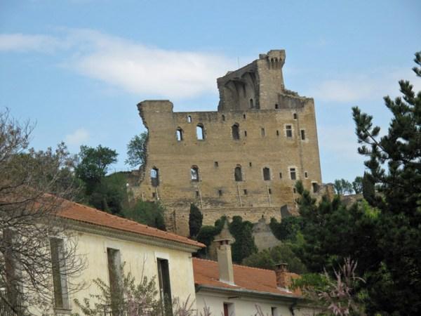 Schlossruine Chateauneuf du Pape
