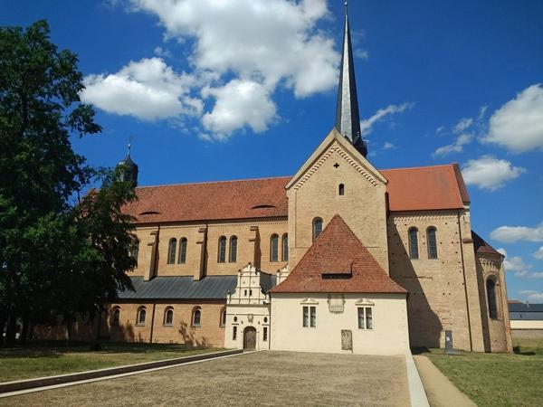 grosse runde durch brandenburg: klosterkirche doberlug in brandenburg
