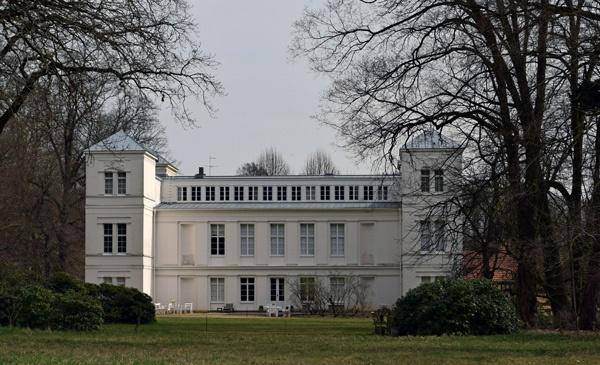 Schloß der Gebrüder von Humboldt in Berlin-Tegel