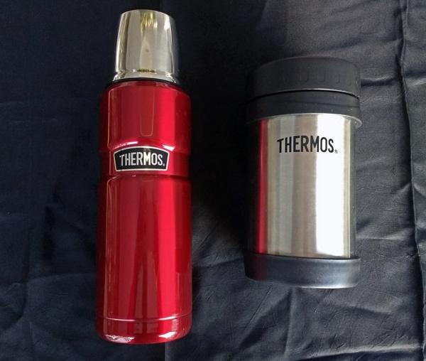 Thermosbehälter als Geschenkidee für eine Motorradfahrerin