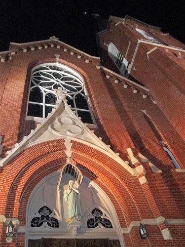 Backsteinkirche in Ft. Smith, AR