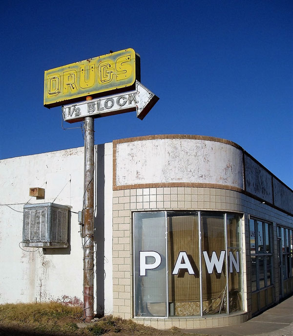 Pawn Shop in Tucumari, NM