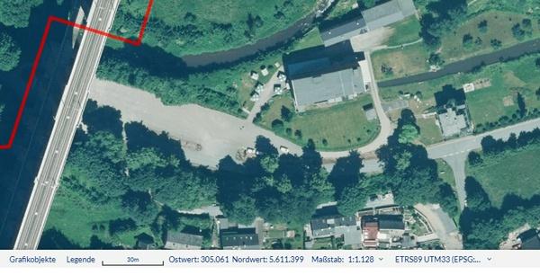 Luftbild der Göltzschtalbrücke bei Reichenbach im Vogtland für die Planung einer Motorradtour mit Geodatenbasis