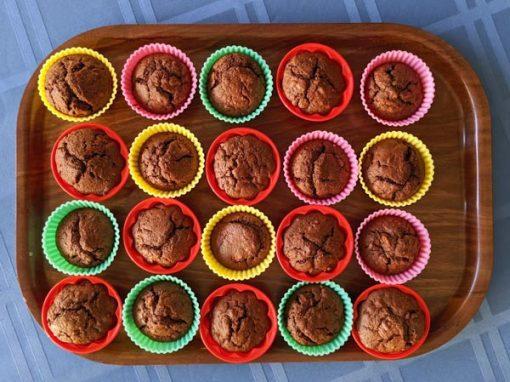 Walnuß-Birnen-Muffins
