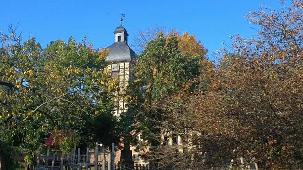 Dorfkirche in Wust, Lkr. Stendal