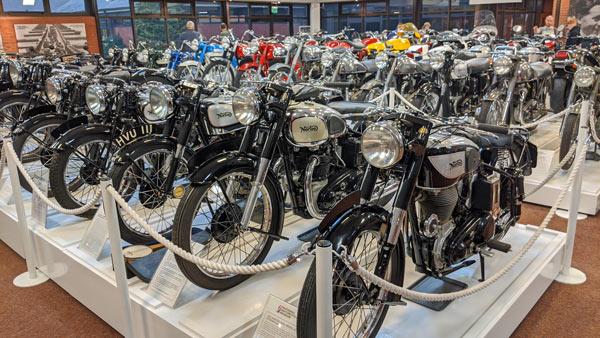 National Motorcycle Museum Birmingham, UK: Showroom
