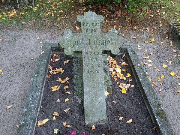 Grab des Wanderpredigers Gustav Nagel in Arendsee