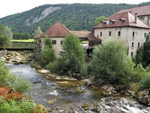 Muehle om franzoesischen Jura