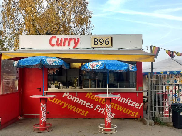 currywurstbude an der bundesstrasse 96