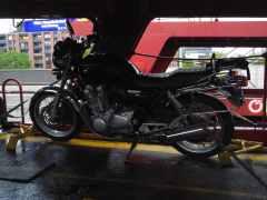 Motorradtransporte