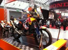 KTM von Mathias Walkner bei der Dakar Ralley