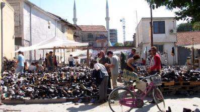 Markt in Shkodra