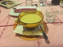 Köstlichste Zitronensuppe und Raki rruschi