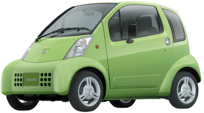 protótipo de minicarro da Renault-Nissan