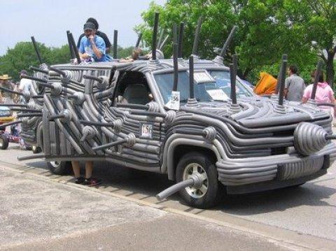 Fotos de Carros estranhos - Crazy Cars Pics