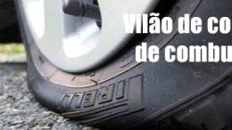 Calibragem de pneus correta