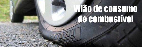 calibragem-pneus-consumo Calibragem De Pneus Errada Aumenta Consumo De Combustível