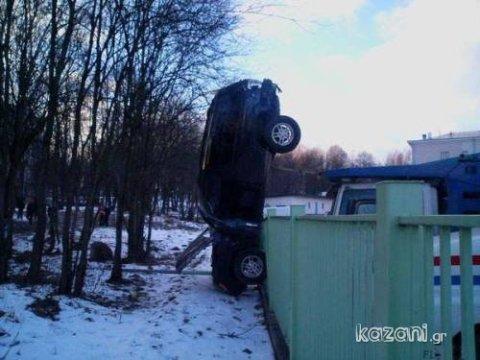 acidentes de carro - equilibrista