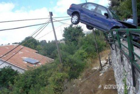 acidentes de carro - arremesso de carro
