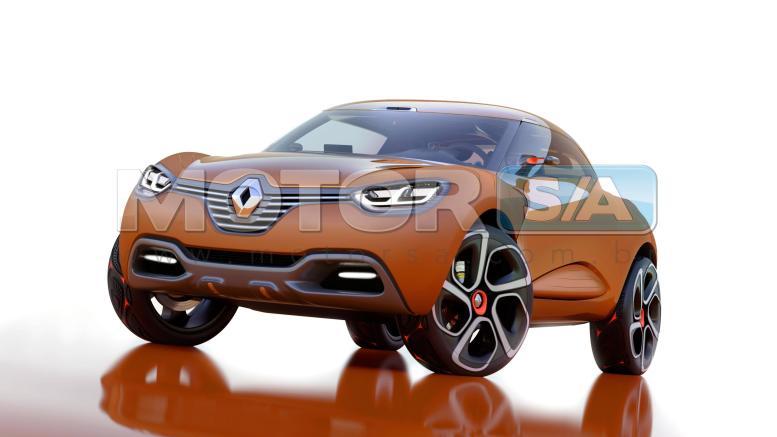 Fotos de Carro Conceito - Renault Captur