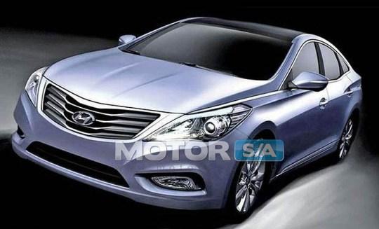 Fotos de carros - Novo Hyundai Azera 2012