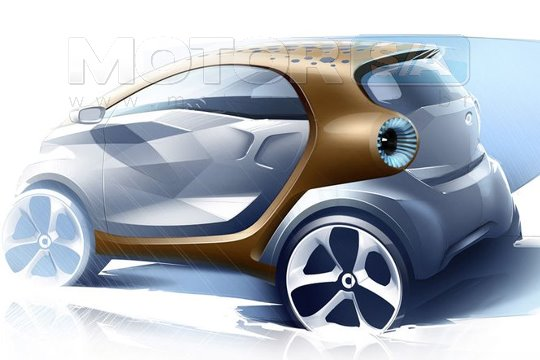 Fotos de carros - Smart Fortwo Forvision