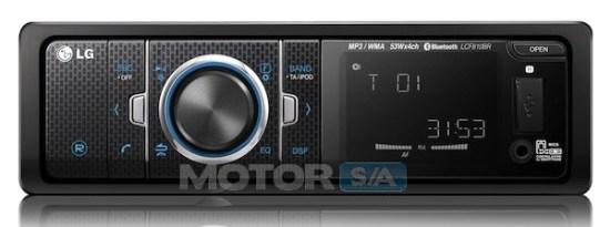 LG auto rádio para carros - controlado pelo celular através de Android ou iOS