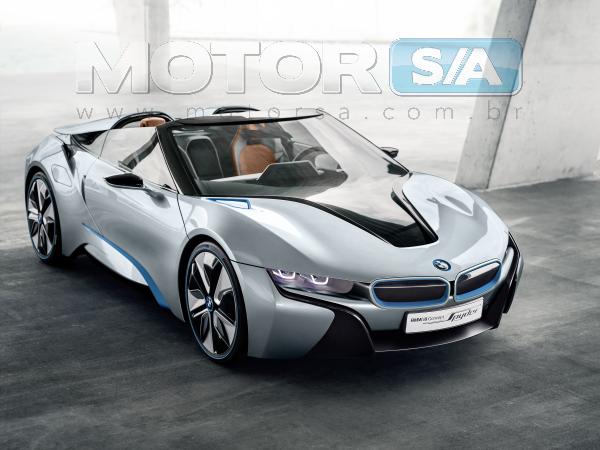 BMW 2013 i8 Spyder Concept - fotos de carros