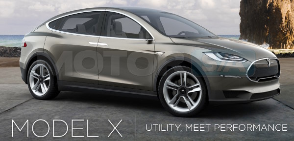 Testa Motors Model X - SUV Elétrico
