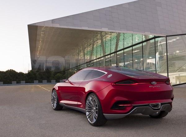 Ford EVOS Concept - fotos de carro