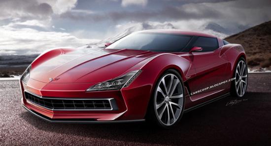 Novo Corvette C7 Conception 2014