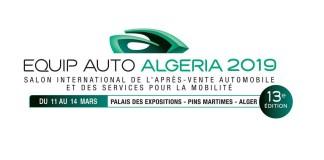 Affiche officielle 13ème édition de EQUIP AUTO ALGERIA