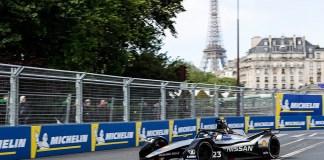 Formule E Robin Frijns remporte le E-Prix de Paris