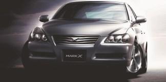 Nouvelle Toyota Mark X