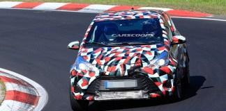Nouvelle génération de Toyota Yaris au Nürburgring