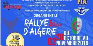 Rallye d'Algérie affiche officielle