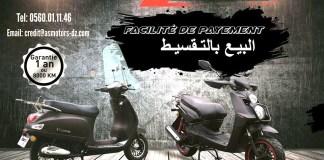 Scooters As Motors propose par facilité de payement