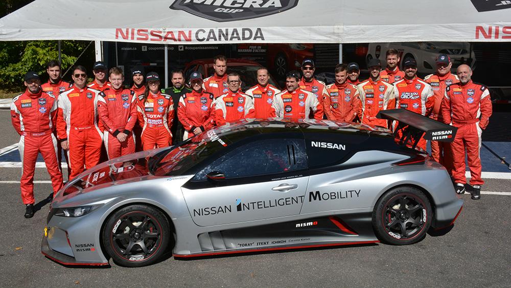 Marco Signoretti champion 2019 de la Coupe Nissan Micra !