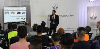 Renault Algérie Production accompagne l'apprentissage d'une deuxième promotion de 24 jeunes dans différentes spécialités