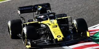 Renault F1 Team à Suzuka
