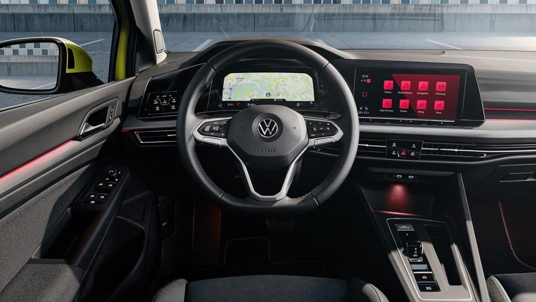 Volkswagen Golf 8 - Nouveau Digital Cockpit