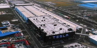 Usine de Tesla à Shanghai