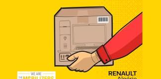 Renault Algérie Don d'ordinateurs