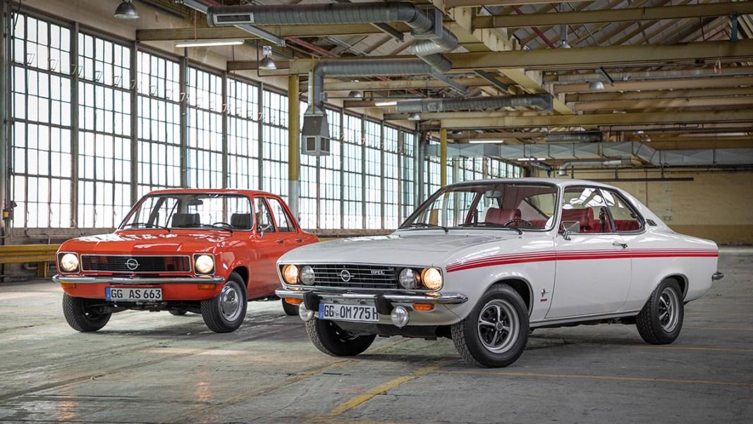 l'Opel Ascona et la Manta fêtent leurs 50 ans