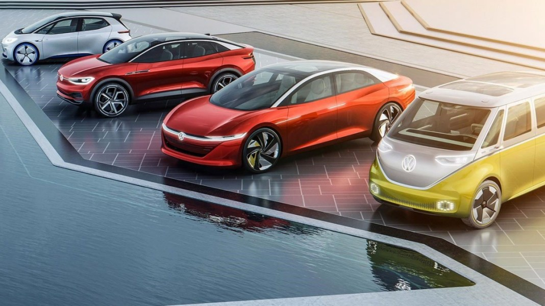 Volkswagen véhicule électrique