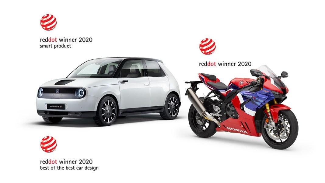 Honda E décroche le prix « Best of the Best » aux Red Dot Design