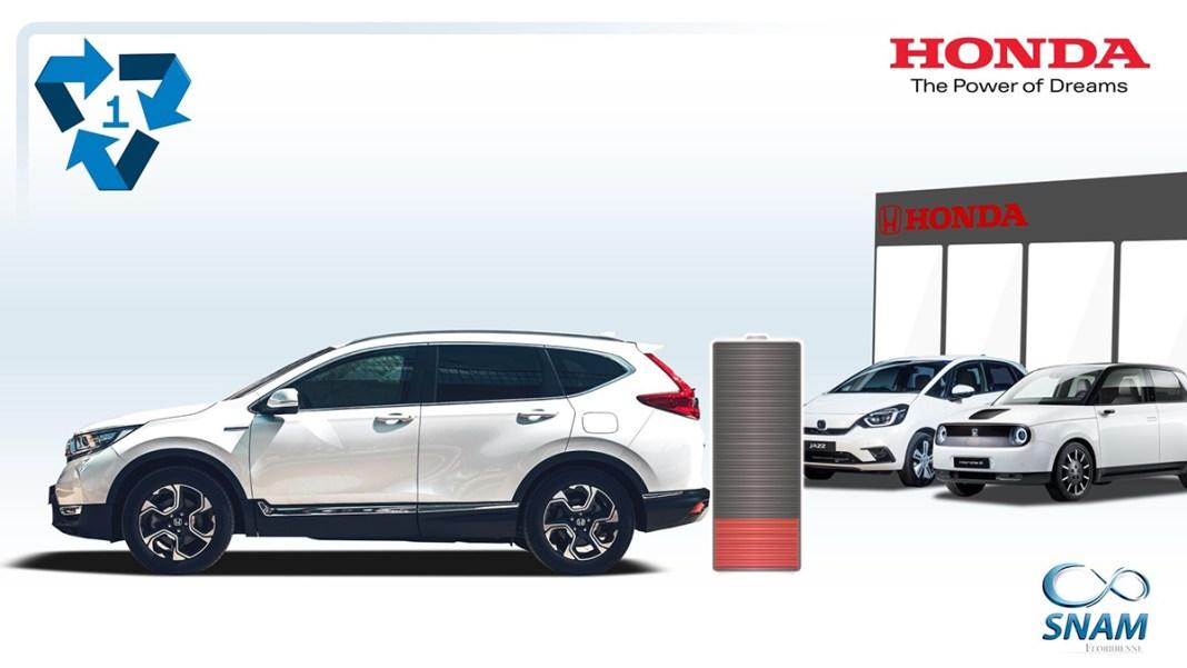 Honda lance une nouvelle initiative de recyclage donne une seconde vie aux batteries de ses véhicules hybrides et électriques