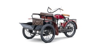 Laurin-Klement LW three wheeler
