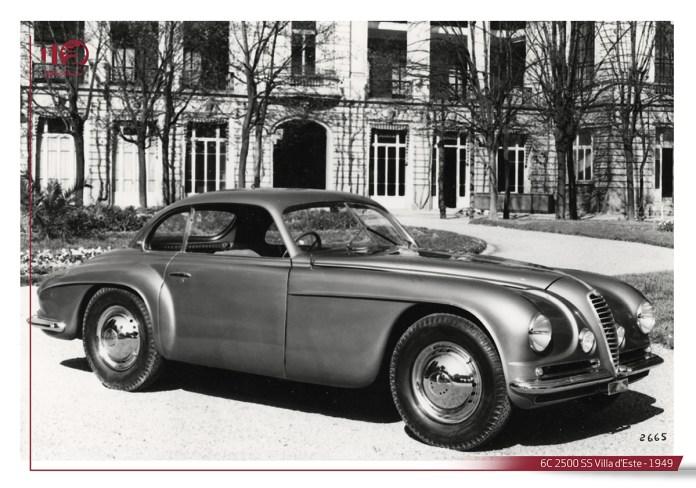 6C 2500 SS Villa d'Este 1949