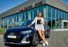 Audi partenaire de la gymnaste Nina Derwael